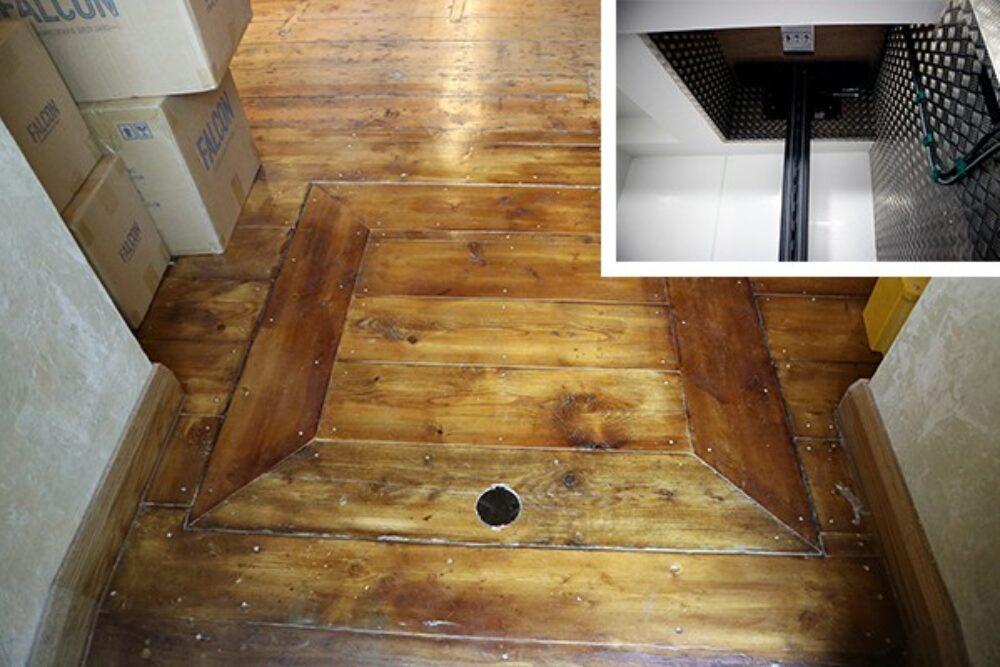 Goose Island BrewPub – Cellar Lift – Floor (2)