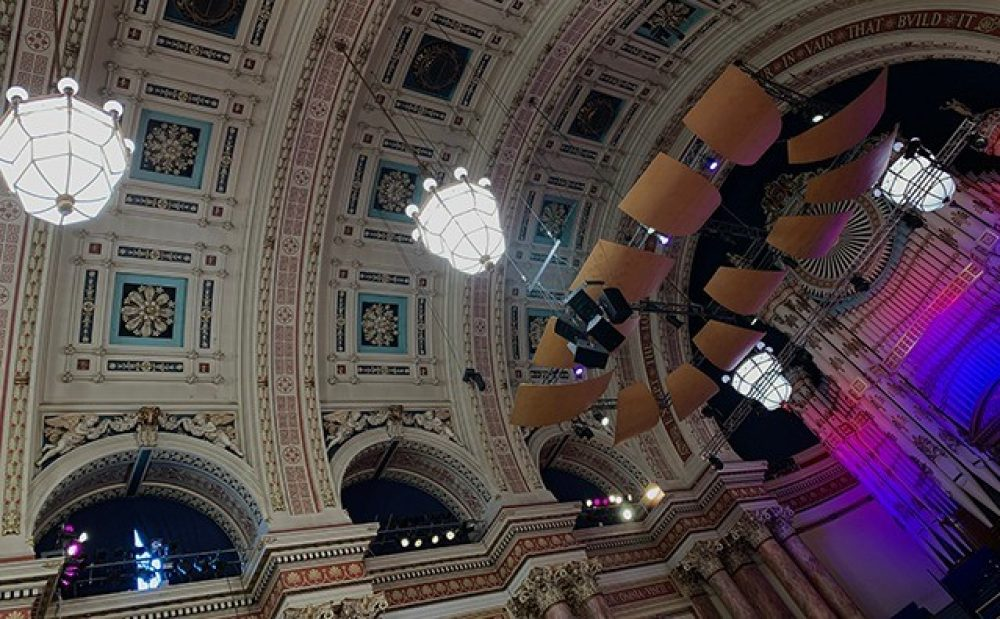 Leeds Town Hall – Chandelier Winch – Brief – Inside
