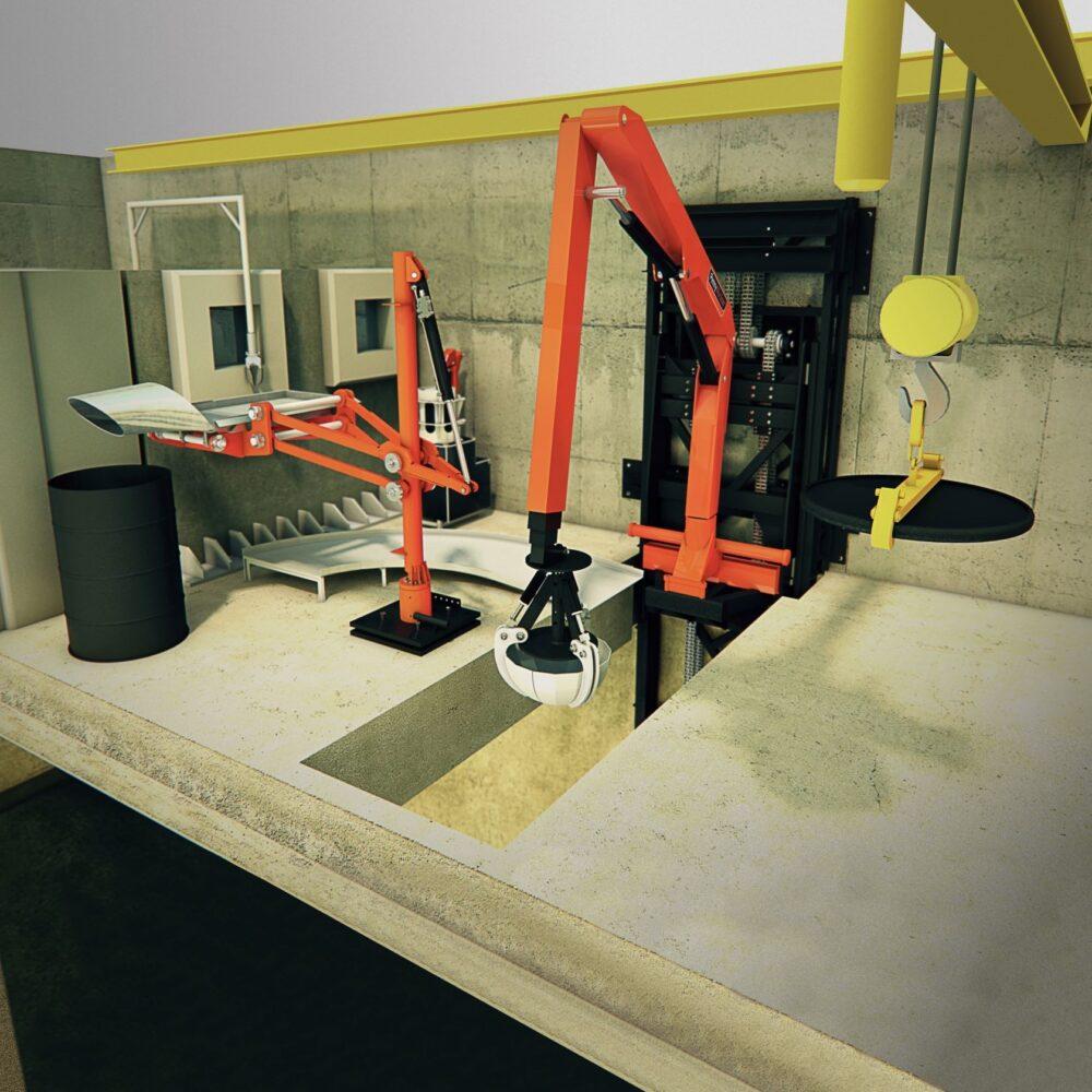 Nuclear Retrieval Equipment