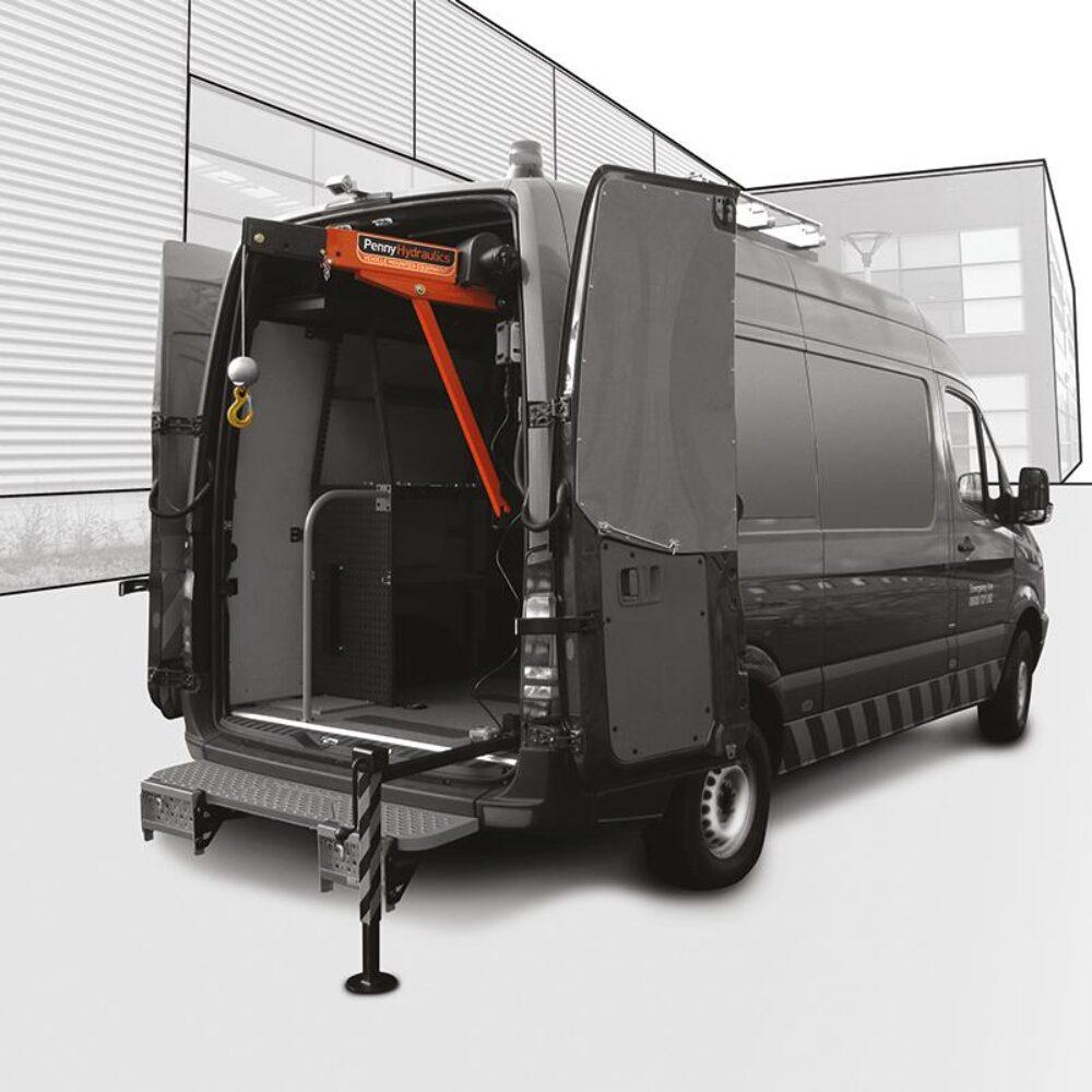 SwingLift ML500SB Van Mounted Crane   Penny Hydraulics